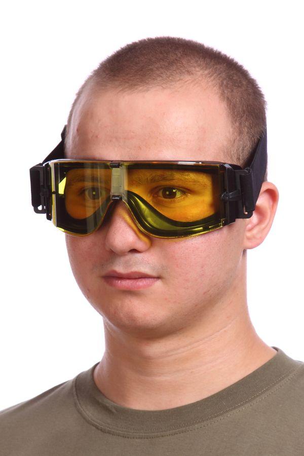 Баллистические очки жёлтые