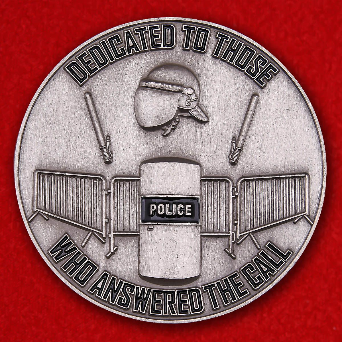 Baltimore polise tactical unit Challenge Coin