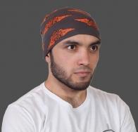 Универсальный бесшовный шарф-бандана