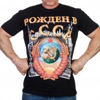 Модная мужская футболка с патриотическим 3D-принтом «РОЖДЁН в СССР».