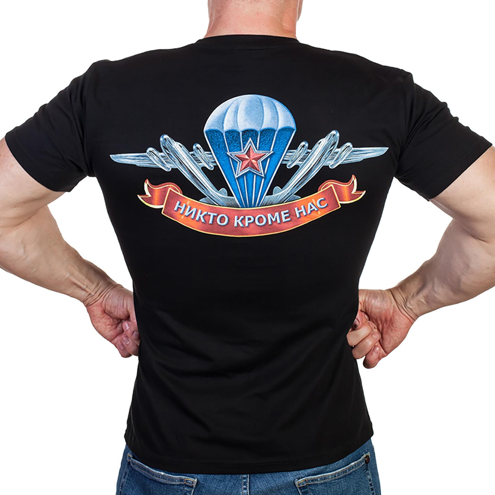 Недорогие футболки с символикой ВДВ – есть все размеры