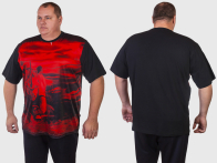 Батальная мужская футболка Ecko Unltd.