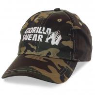Бейсболка Gorilla Wear для бодибилдеров, кроссфитеров, тяжелоатлетов, пауэрлифтёров и других спортсменов сильных духом и телом!