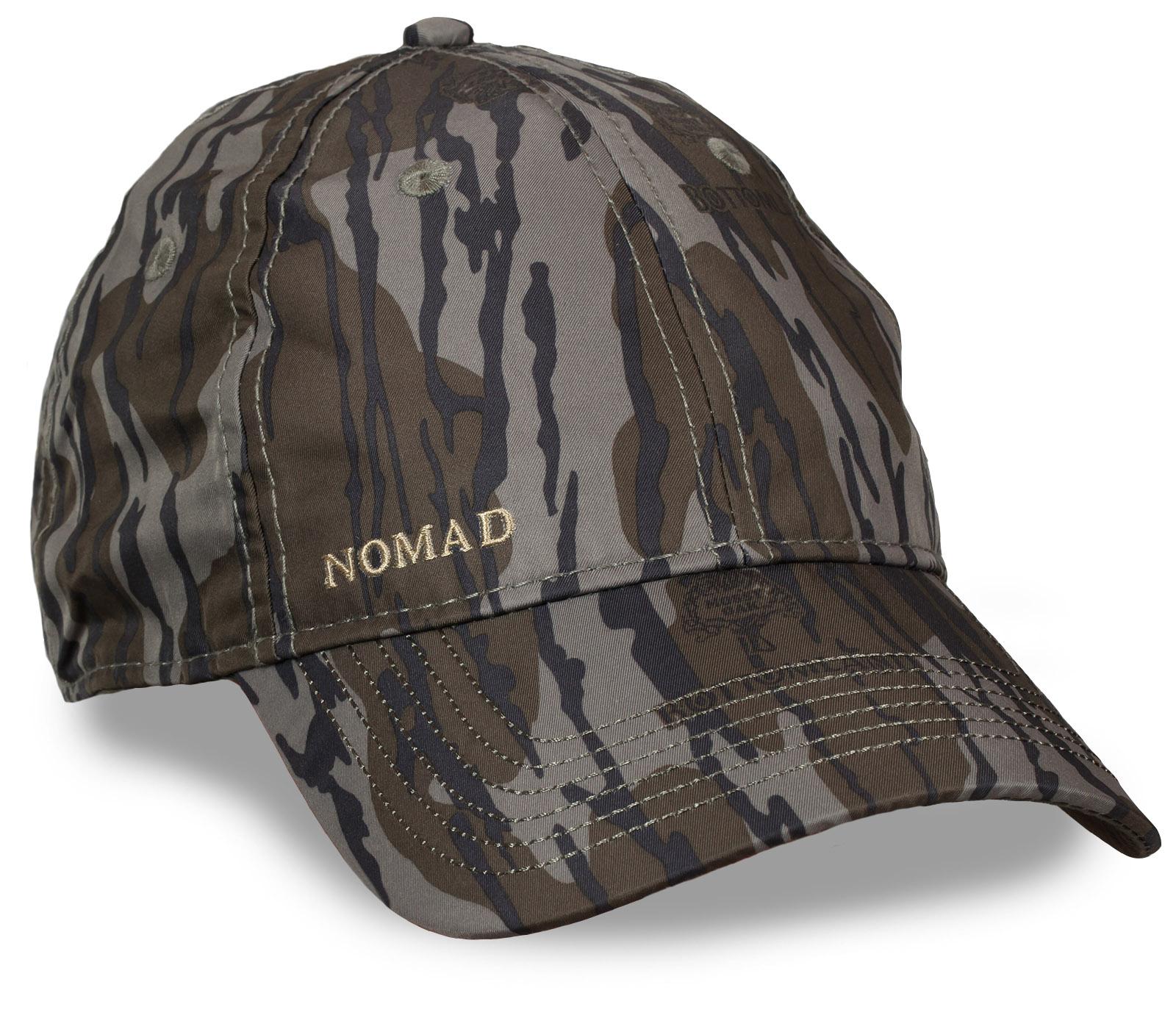 Камуфляж «Тёмный лес» в деле! Мужская бейсболка NOMAD. Популярный армейский дизайн и козырек, который можно загибать как нравится