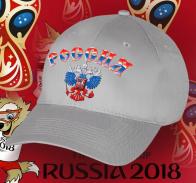 Бейсболка с Двуглавым орлом в цветах флага России