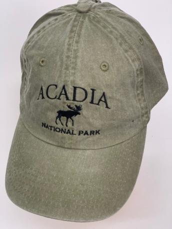 Бейсболка Acadia с черным силуэтом лося