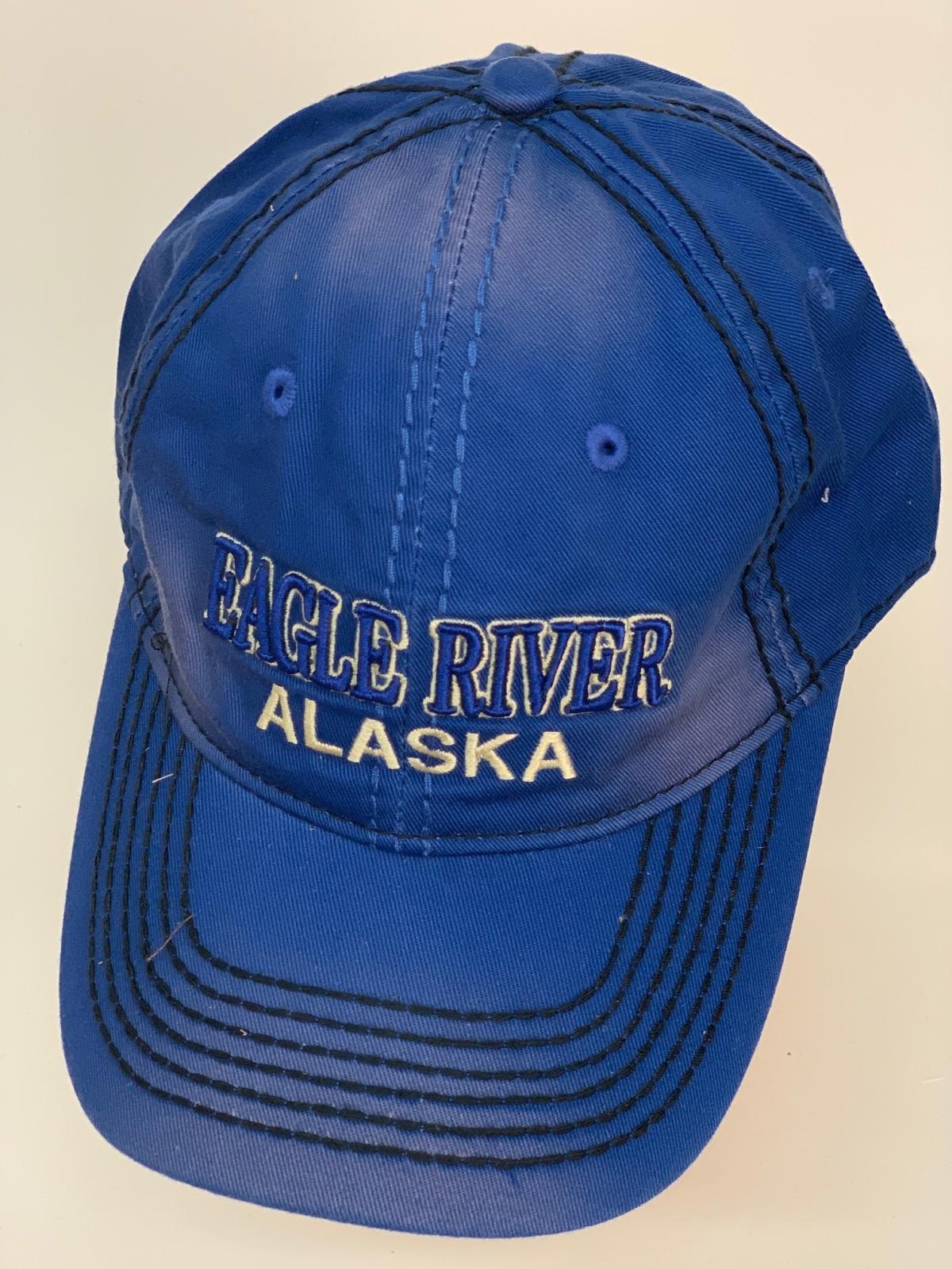 Бейсболка Alaska глубокого синего цвета