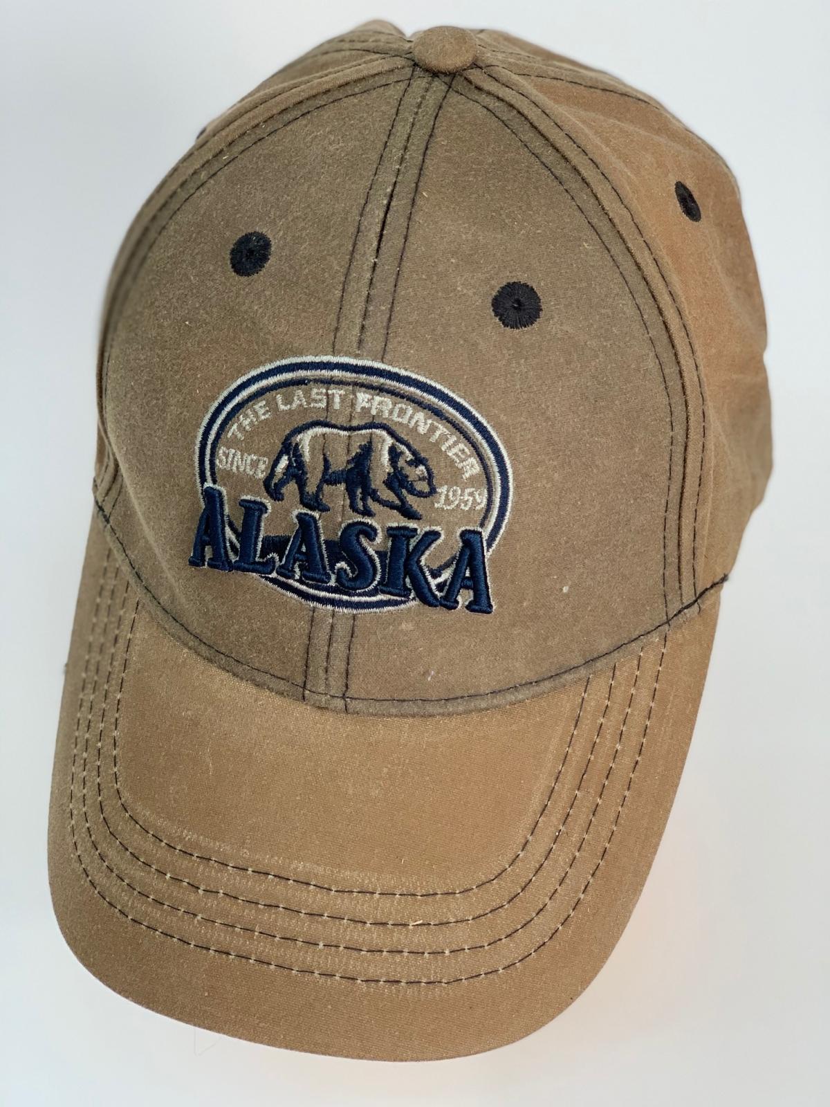 Бейсболка Alaska из бежевой плотной ткани