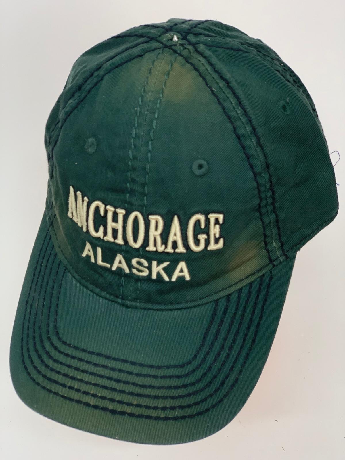 Бейсболка Alaska изумрудного цвета