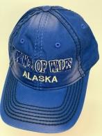 Бейсболка Alaska Prince of Wales синего цвета