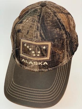 Бейсболка Alaska с камуфляжной сеткой по всей тулье
