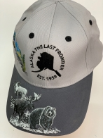 Бейсболка Alaska с вышитыми животными на козырьке