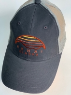 Бейсболка Alaska с вышивкой и сеткой на затылке