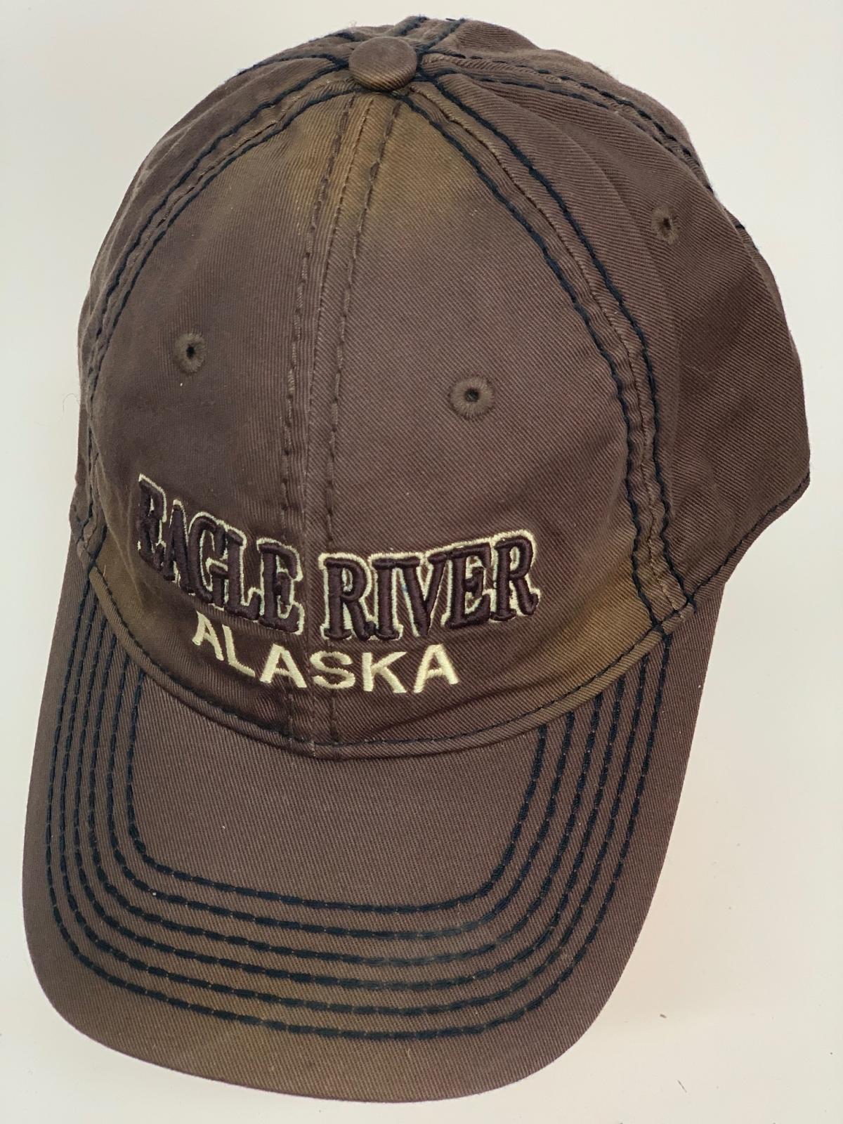 Бейсболка Alaska темно-коричневого цвета