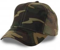 Бейсболка трехцветный армейский камуфляж