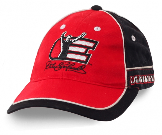 Бейсболка автогонщика Дэйла Эрнхардта-младшего (Джуниор): 2-кратного чемпиона NASCAR Nationwide Series и победителя  Daytona 500. Приобщись к скорости!