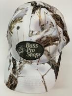 Бейсболка Bass Pro Shops камуфляж белого цвета