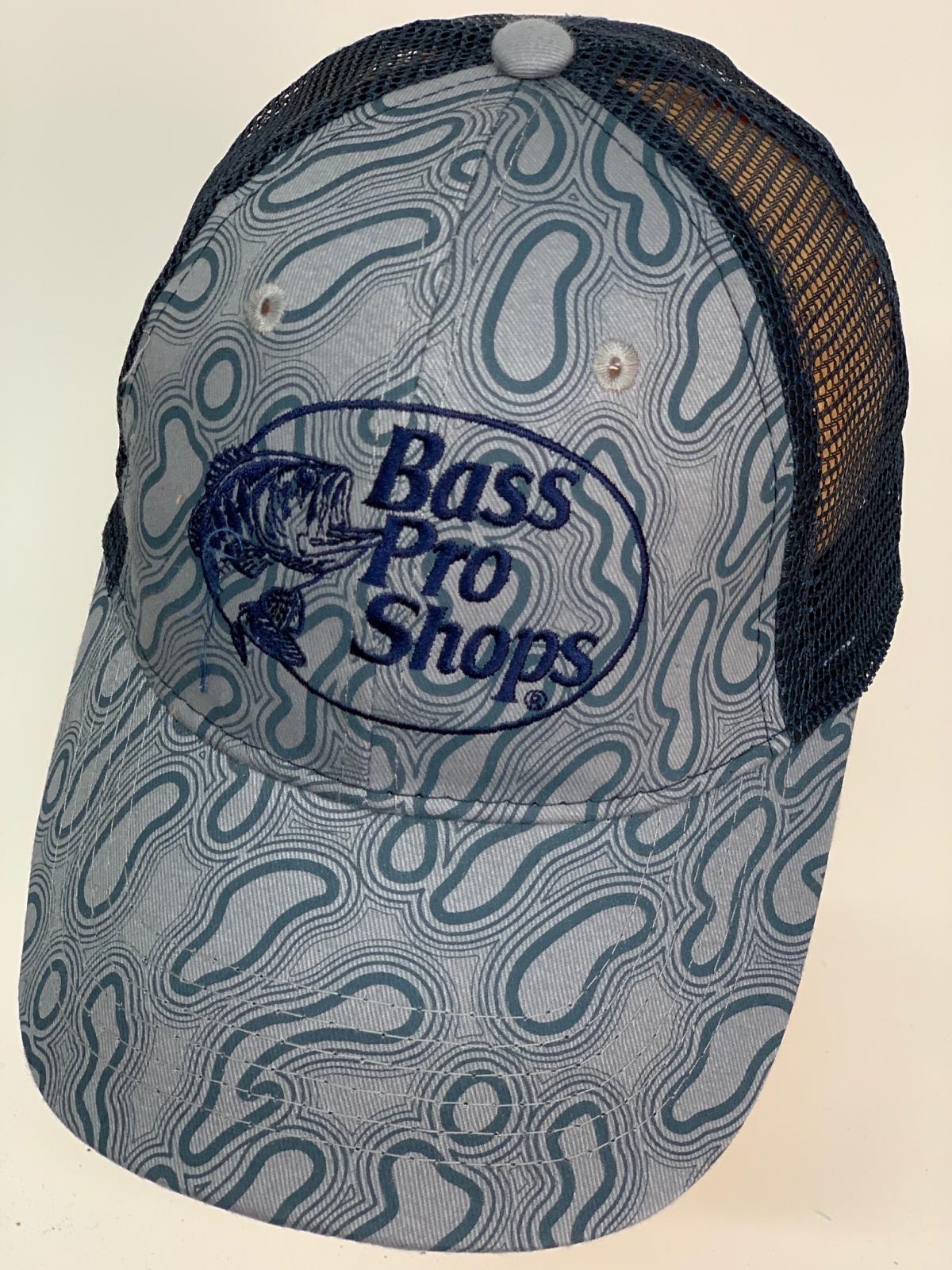 Бейсболка Bass Pro Shops с черной сеткой