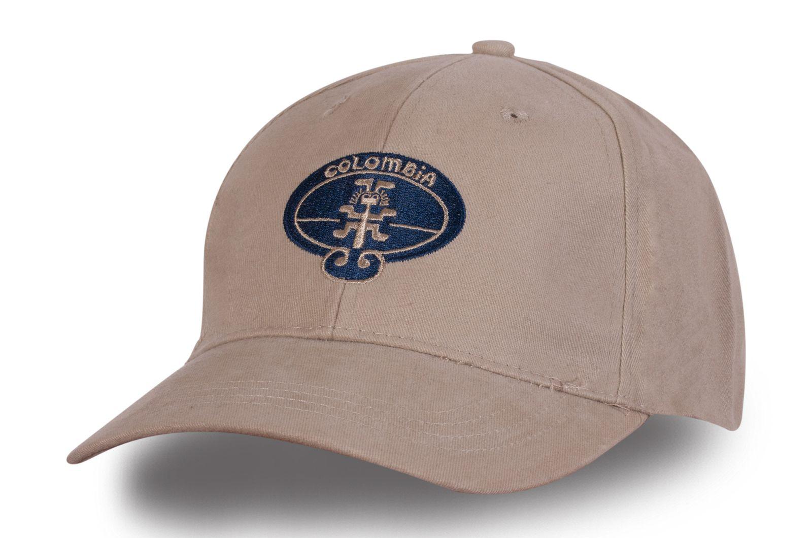 Бейсболка бежевая - купить в интернет-магазине с доставкой
