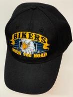 Бейсболка Bikers черного цвета с орлом