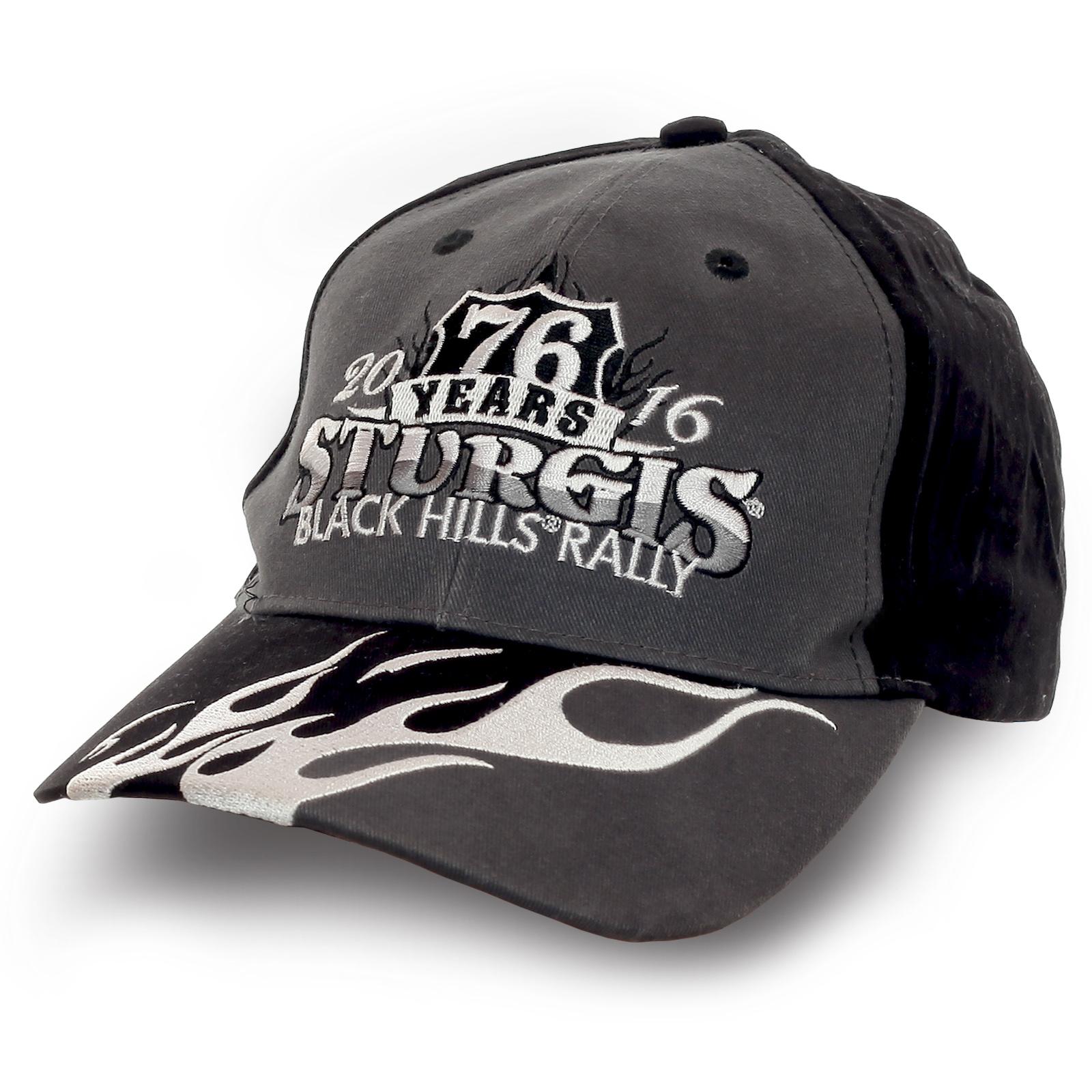 Бейсболка Black Hills Rally от Sturgis