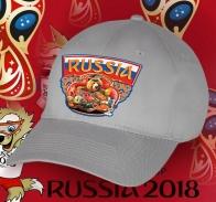 Только с фабрики! Нарядная бейсболка «Болею за Россию».