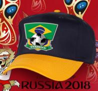 Комбинированная бейсболка бразильской сборной