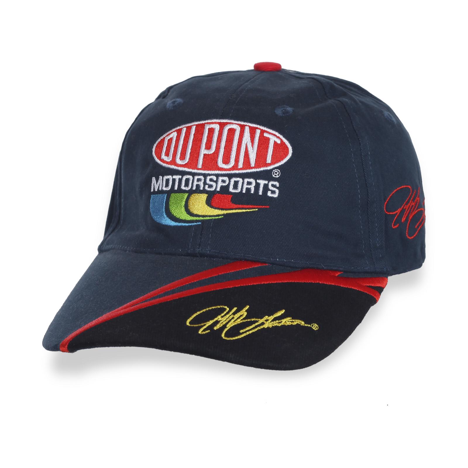 Бейсболка бренда DU PONT с вышитым автографом