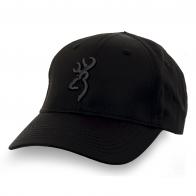Бейсболка Browning черного цвета. 100% хлопок, универсальный размер