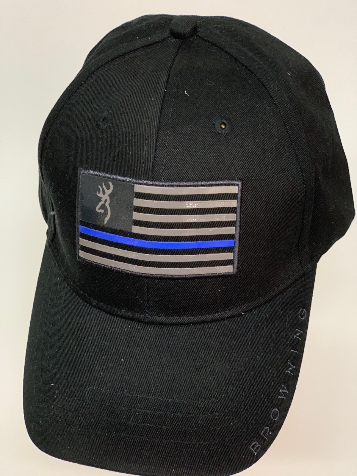 Бейсболка Browning черного цвета с флагом