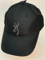 Бейсболка Browning черного цвета с серой вышивкой