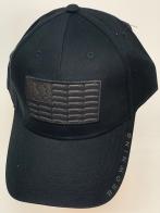 Бейсболка Browning черного цвета с темно-серой нашивкой