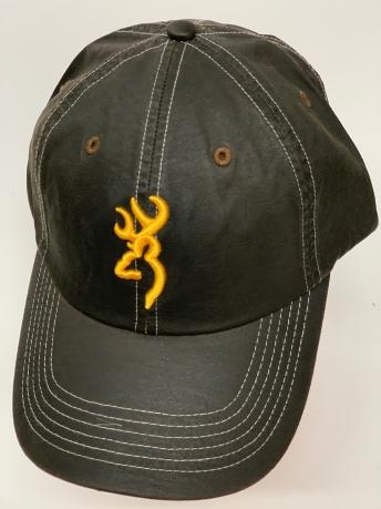 Бейсболка Browning черного цвета с желтой вышивкой