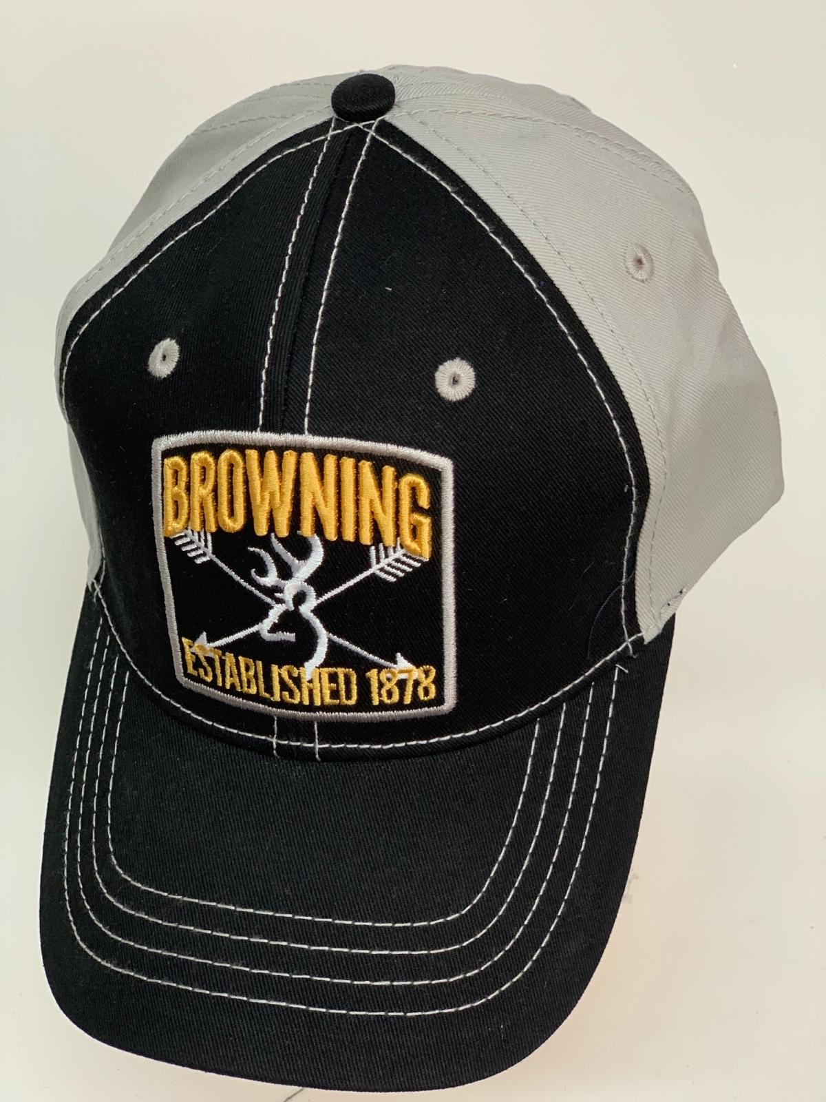 Бейсболка Browning черного цвета со светлым тылом