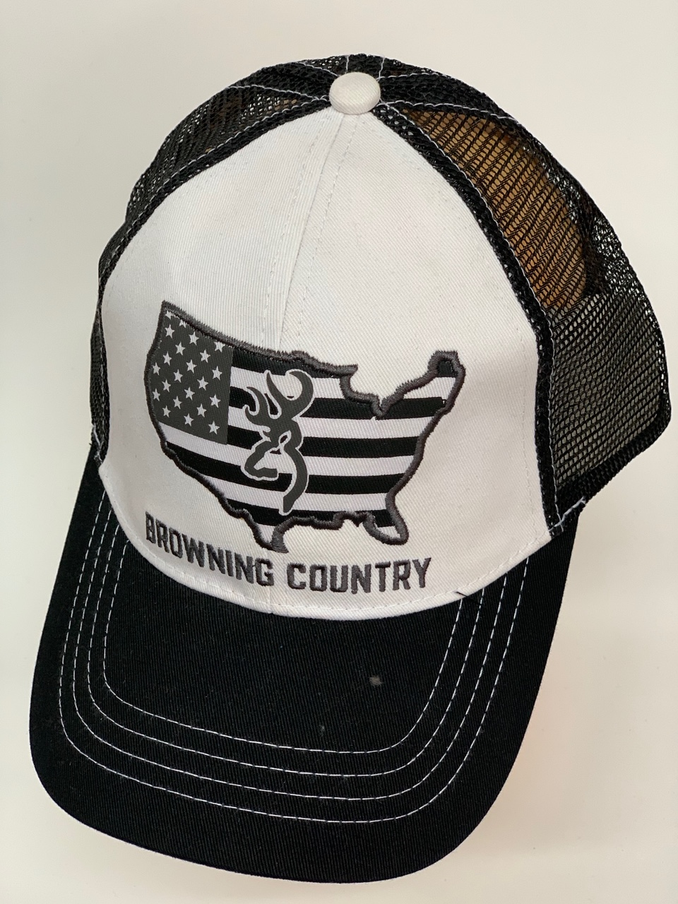 Бейсболка Browning country с черной сеткой