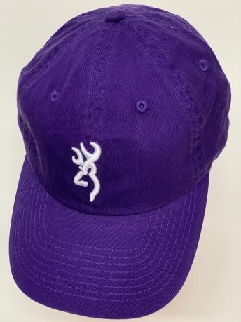Бейсболка Browning фиолетового цвета с белой вышивкой