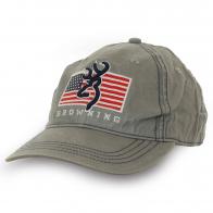 Бейсболка Browning с флагом USA