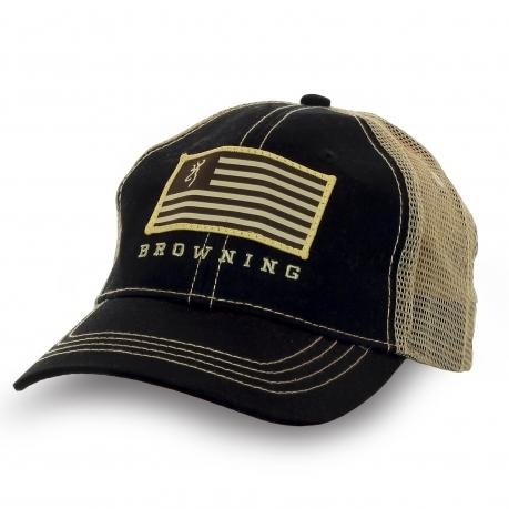 Бейсболка Browning с флагом