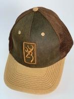 Бейсболка Browning с коричневой сеткой