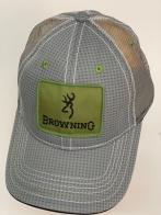 Бейсболка Browning с оливковой прямоугольной нашивкой