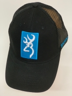 Бейсболка Browning с сеткой и голубой нашивкой