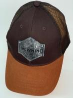 Бейсболка Browning с сеткой и серебристой нашивкой