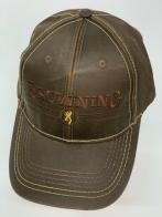 Бейсболка Browning темно-коричневого цвета с вышивкой