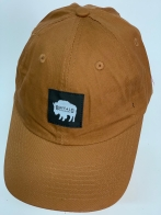 Бейсболка Buffalo коричневого цвета с нашитым быком