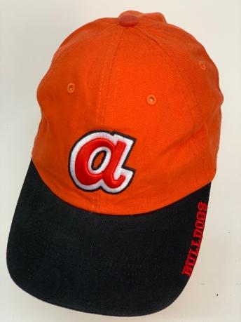 Бейсболка BULLDOGS ярко-оранжевого цвета