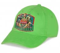 Светло-зеленая бейсболка с юбилейным принтом «Погранвойска»