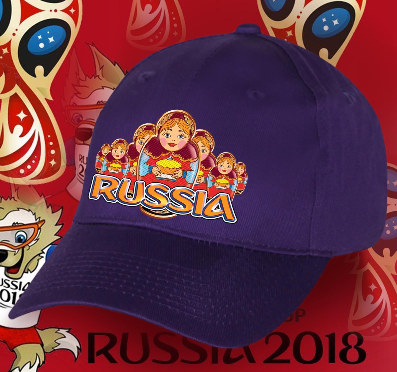 Популярная бейсболка с русской символикой