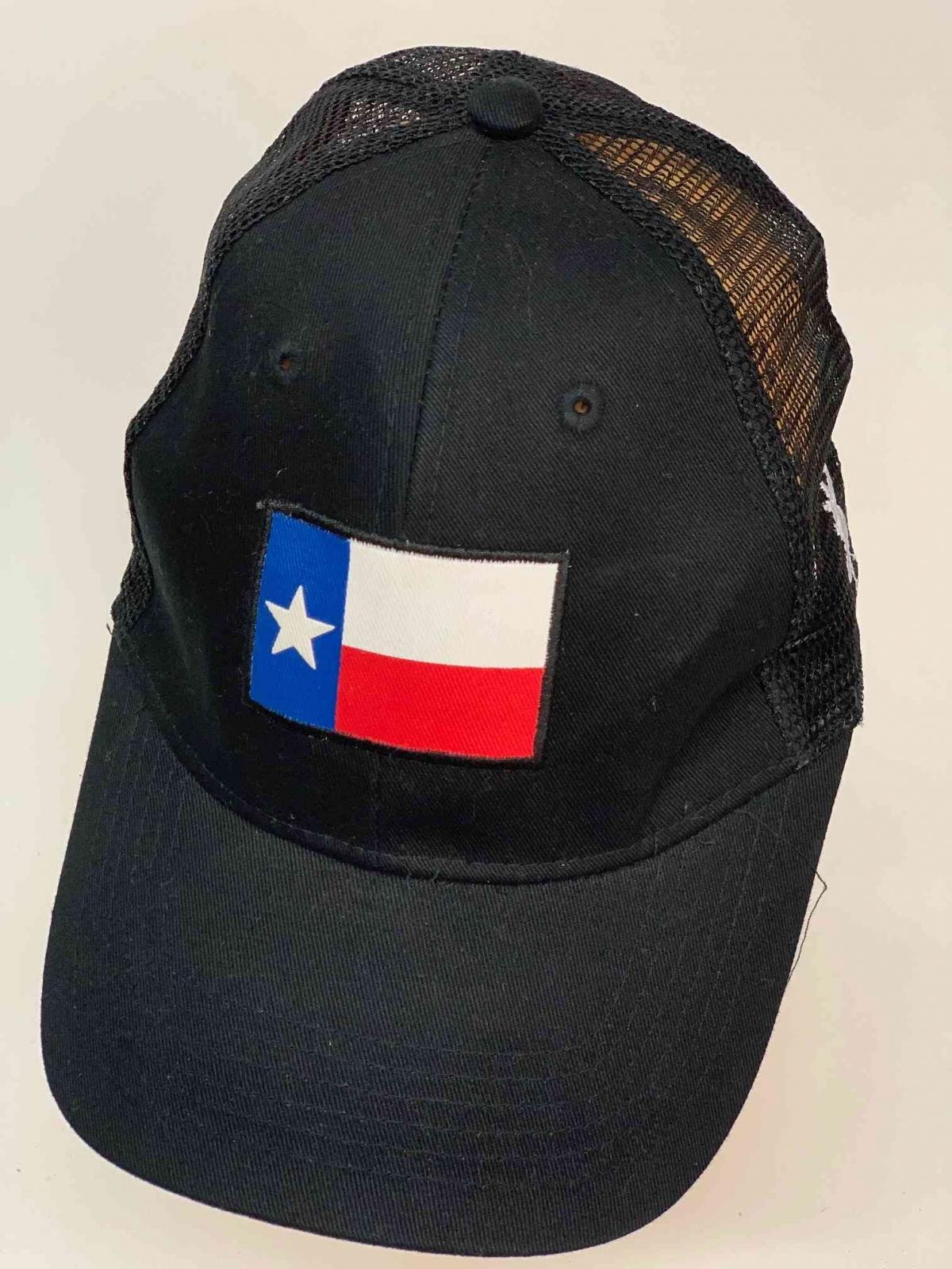 Бейсболка чёрного цвета с флагом Чили