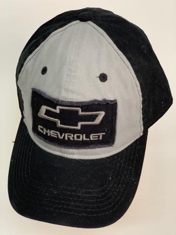 Бейсболка Chevrolet черного цвета с белой вставкой