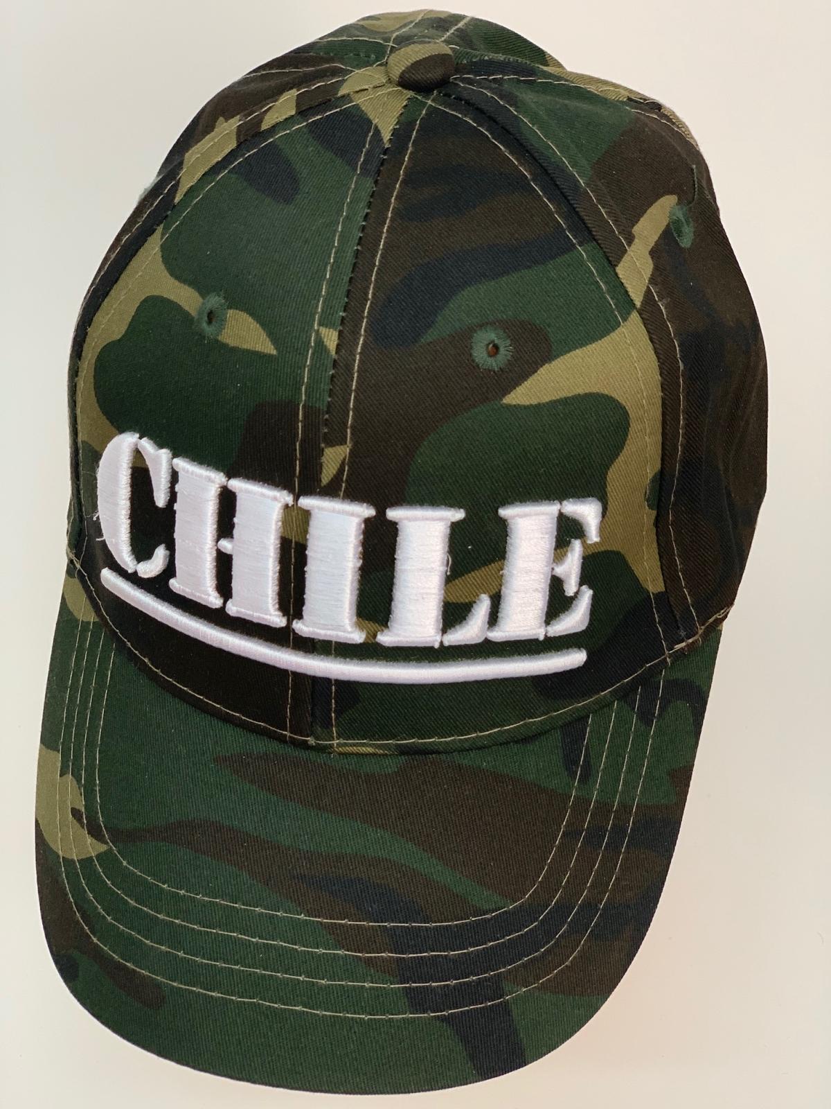 Бейсболка Chile из камуфлированной ткани